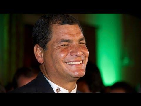 Correa re-elected as Ecuador president