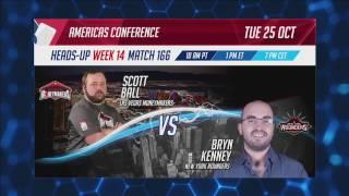 Highlights: GPL Week 14 - Americas Heads-Up - Scott Ball vs. Bryn Kenney - W14M166