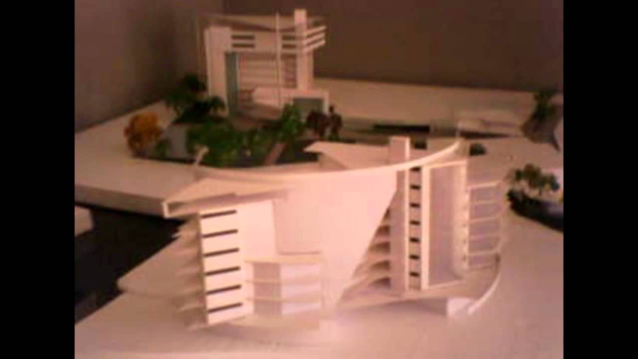 Edificio De Departamentos Maqueta Volumetrica Wmv Youtube