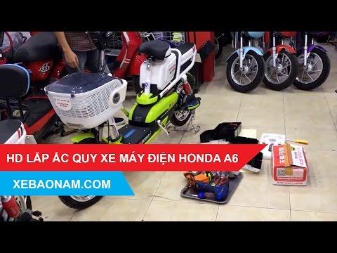 [XBN.VN] Đại Lý Phân Phối Xe đạp điện Honda A6 Chính Hãng Giá Rẻ Nhất Việt Nam.