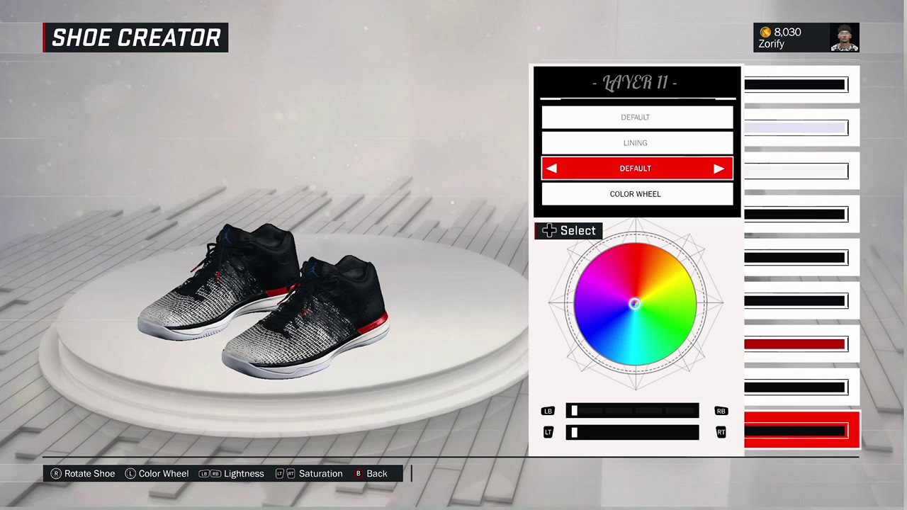 size 40 d6c7f 5f611 NBA 2K17 Shoe Creator - Air Jordan 31 Low