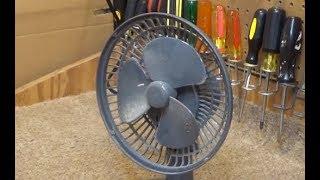 How to Balance a Desk Fan Blade