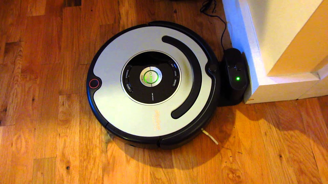 iRobot Roomba - How to Dock Roomba for Charging - YouTube