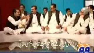 Hilarious parody of politicians singing Qawwali song Teri Soorat in Hum Sub Umeed Se Hain