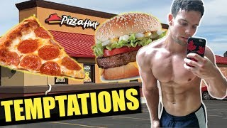 RESISTING JUNK FOOD TEMPTATIONS ON A FAT LOSS DIET