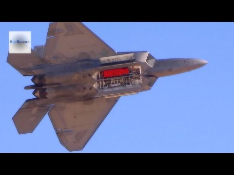 World's Most Feared Fighter Jet: F-22 Raptor Demonstration