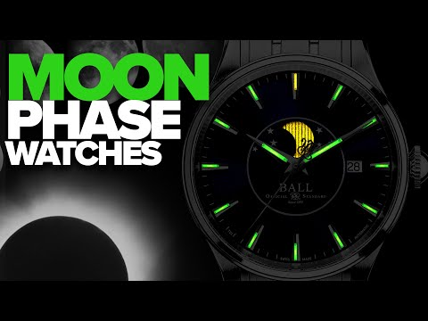 Moonphase Watches: From Under $500-$4,000 (2019)