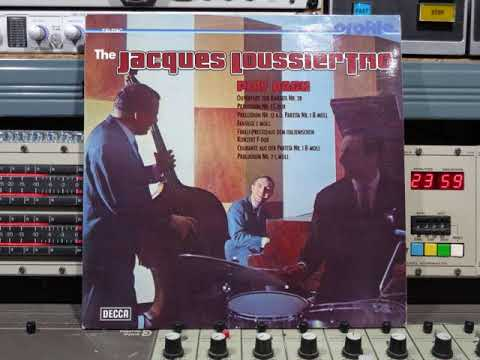 The Jacques Loussier Trio  Play Bach Upload By B v d M 2019