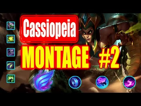 Cassiopeia Montage #2    1000 IQ  Best Cassiopeia Plays S8    League of Legends