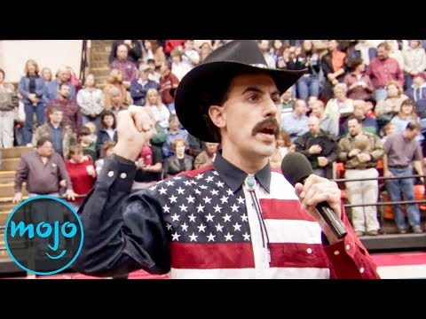 Top 10 Cringiest Sacha Baron Cohen Moments