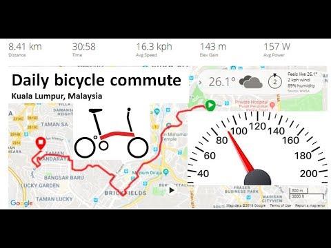 Brompton Commute W/ Dashboard (Power, Heart Rate, Speed Etc)