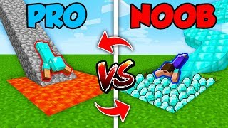 Minecraft NOOB vs. PRO : SWAPPED SLIDE in Minecraft (Compilation)