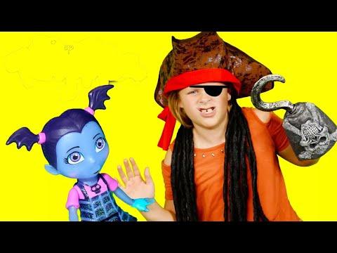 VAMPIRINA + ASSISTANT + UNBOXING Vampirina Scare B&B Unboxing