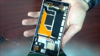 Sony Xperia Z3 D6603 Disassembly,LCD replace and assembly