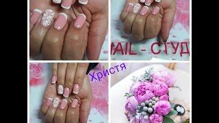 Свадебный дизайн ногтей, свадебный маникюр