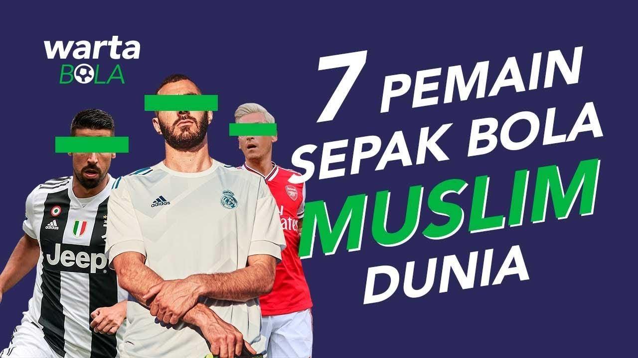 7 Pemain Sepak Bola Muslim Dunia