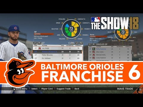 "MLB The Show 18: Orioles Franchise ep. 6 - ""Acquiring A YOUNG SOLID HITTER & Bullpen Help!"""