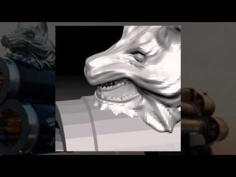 Cerberus Sculpting - ZBrush