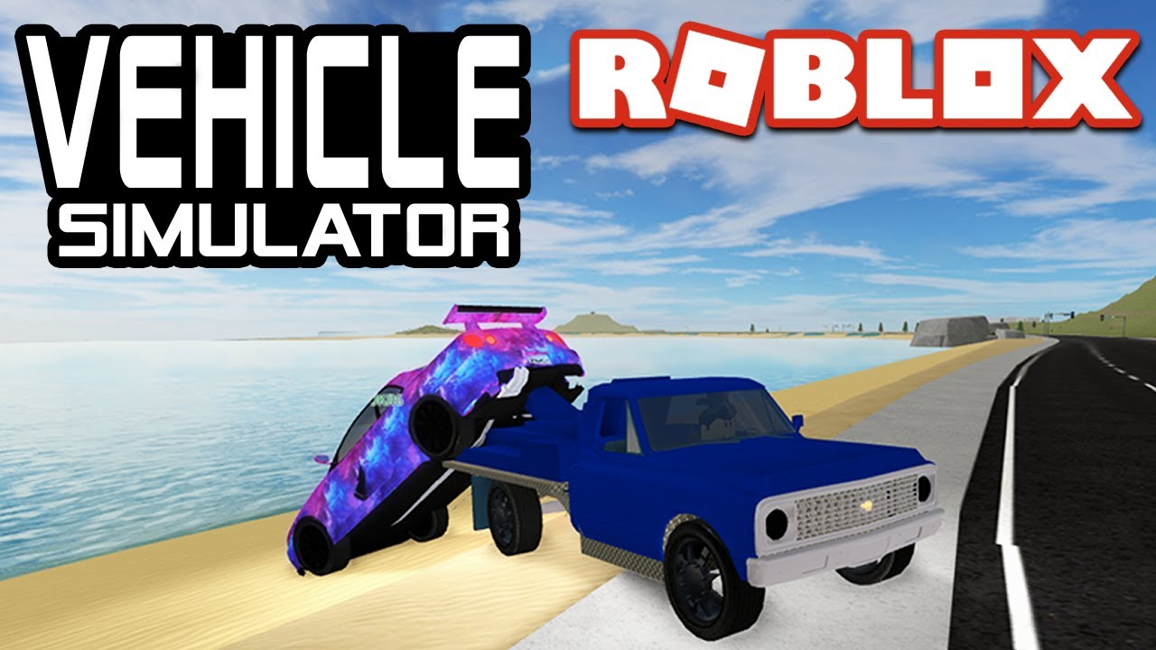 TOWING CARS in Vehicle Simulator! | Roblox