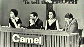 To Tell The Truth CBS Primetime 1959 #1