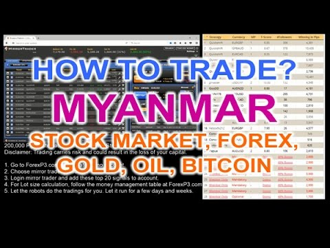 Myanmar currency forex trading