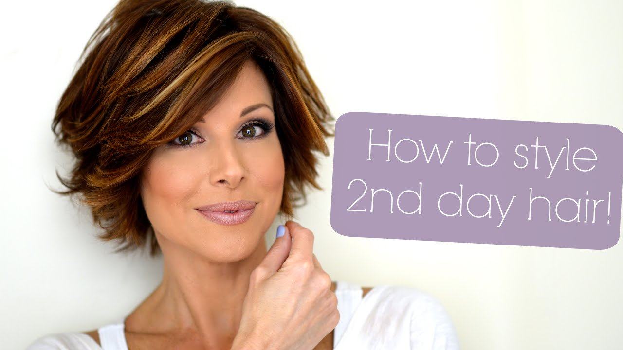 Styling Tips For Second Amp Third Day Hair Youtube