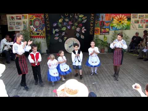 Hungarian folk dance performance by children (Lakeside Festival March 2011) Part 2