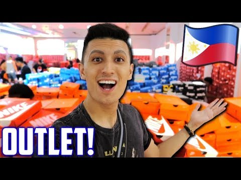 Download HIDDEN Philippines Sneaker OUTLET in a LUXURY MALL! (Manila Vlog)