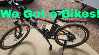 We got E Bikes! Ancheer e bike review thumbnail