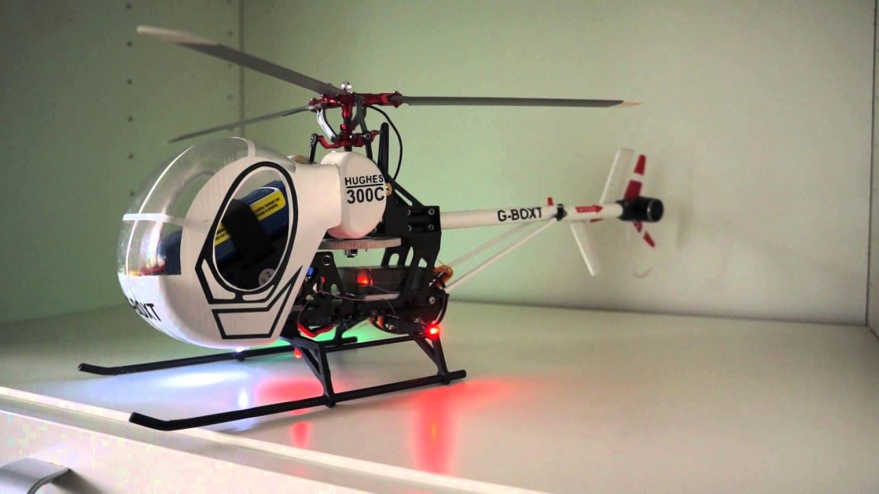 & Scalelights Huges 300 Blade SRX - YouTube