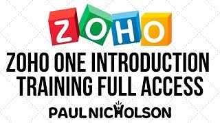 Zoho ONE - 2020 Vision - Full Introduction - Happy-Me As Your Official Zoho Partner