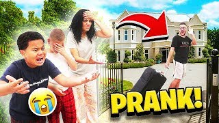 Im Quitting Youtube & Moving Out Prank On Family! **THEY FREAKED OUT!!**