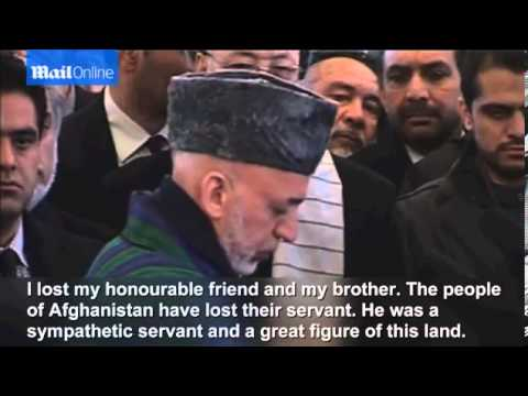 State funeral held for Afghanistan
