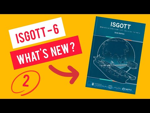 ISGOTT 6th Edition - Tanker work ( Part 2 )