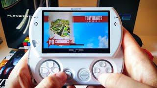 Tony Hawk's Project 8 Gameplay - PSP Go 2019