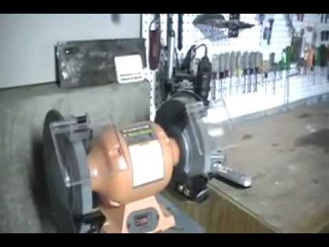 Harbor Freight 8 Inch Bench Grinder Review Youtube
