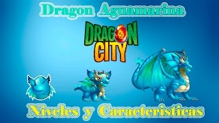 Dragon Aguamarina De Dragon City