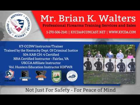 Kentucky Concealed Defense Academy 2016
