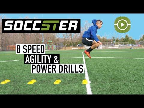 8 Exercises to Improve Speed, Agility & Power