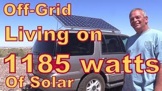 Meet Jim Who Lives off-Grid with 1185 Watts of Solar thumbnail