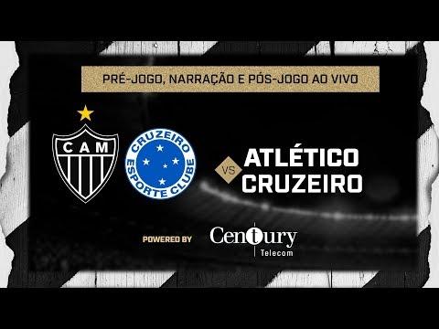 Atlético x Cruzeiro: pré-jogo, narração e pós-jogo.