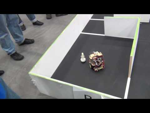 BU2B2 - Trinity College Firefighting Home Robot Content Competition Practice Trail 34