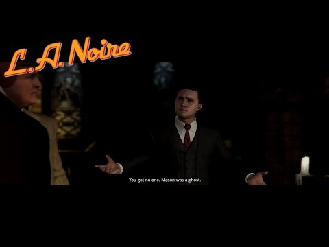 L.A. Noire - Mission #13 - The Quarter Moon Murders (5 Star) (HD)