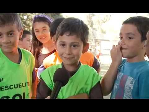 """Niños del Programa """"Escuelas de Iniciación Deportiva, Gol al Futuro"""""""