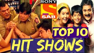 TOP 10 Hit Shows of SAB TV with Highest TRP | Best SAB TV Serials | Biggest SABTV Hits with High TRP