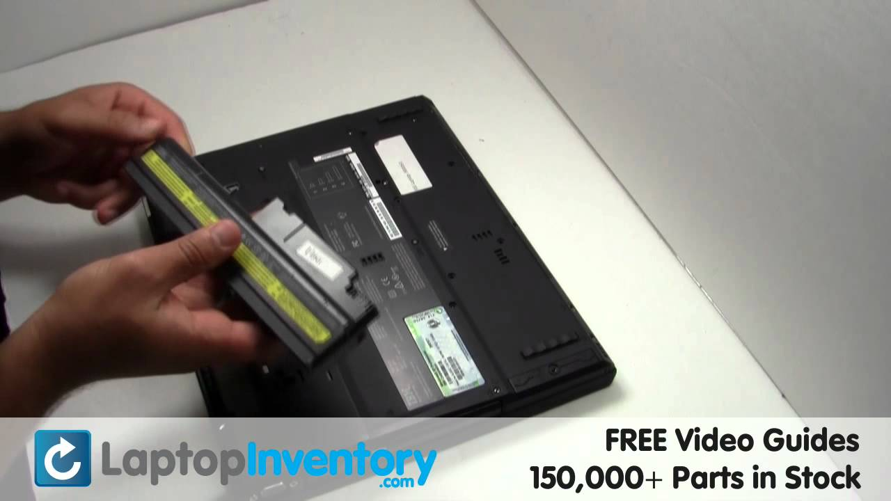 ibm lenovo battery replacement guide installation t40 t40p t41 rh youtube com IBM T43 Hard Drive Compatibility IBM T43 Battery