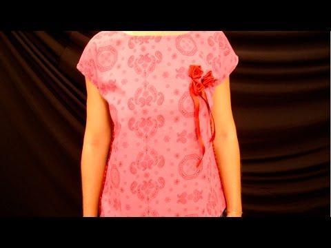 Clique e veja o vídeo Confecção de Blusas - Batas