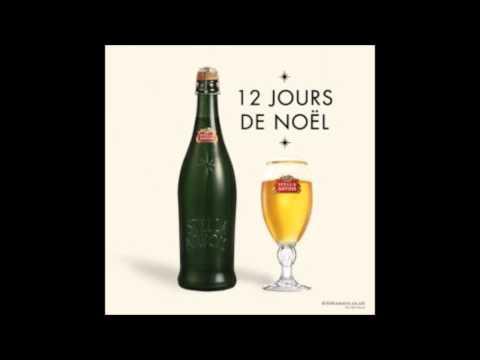 Stella Artois Ice Lounge US  commerical music - 12 Jour De Nöel