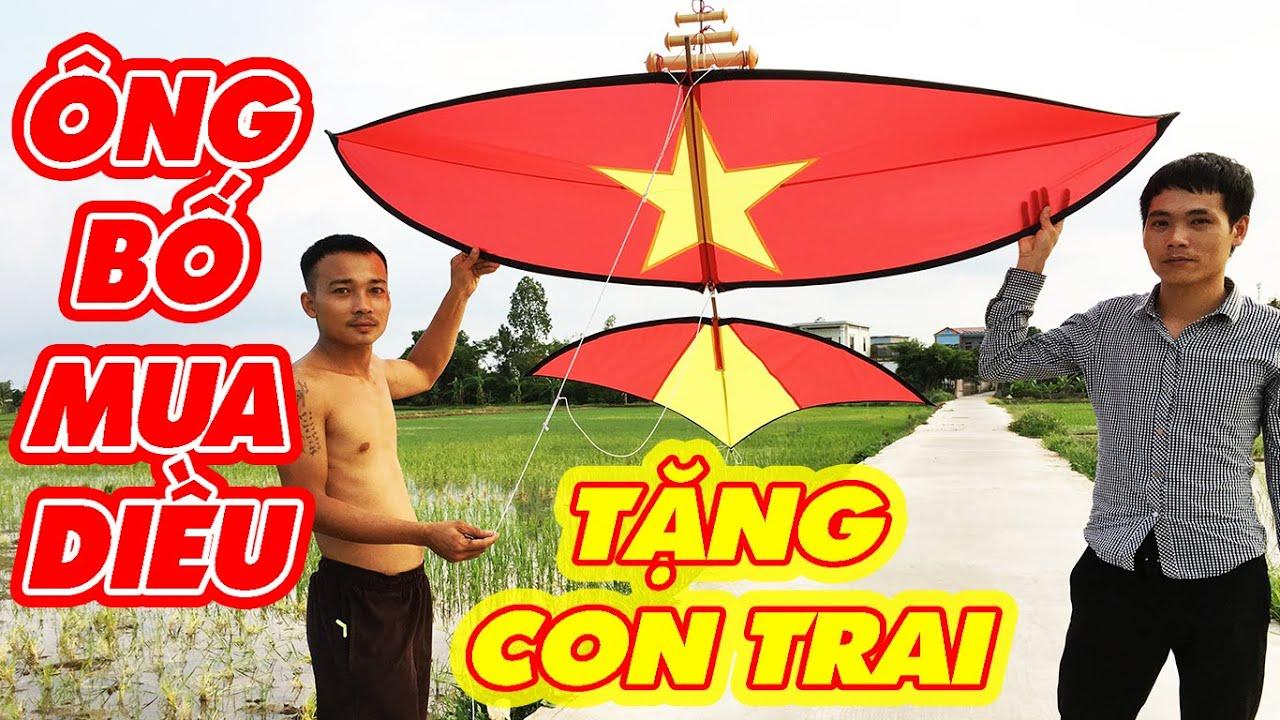 Ông Bố Bên Nam Định Sang Thái Bình Mua Diều Tặng Con Trai   Fly a kites   Phuong PV