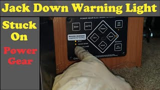Replacing a Power Gear Jack Warning Switch